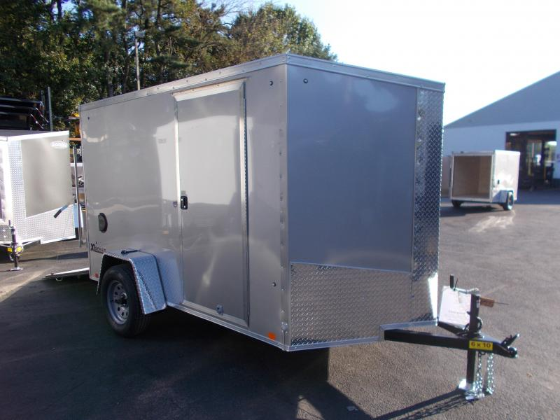2019 Cargo Express 6x10 V-Nose Cargo / Enclosed Trailer 2019551