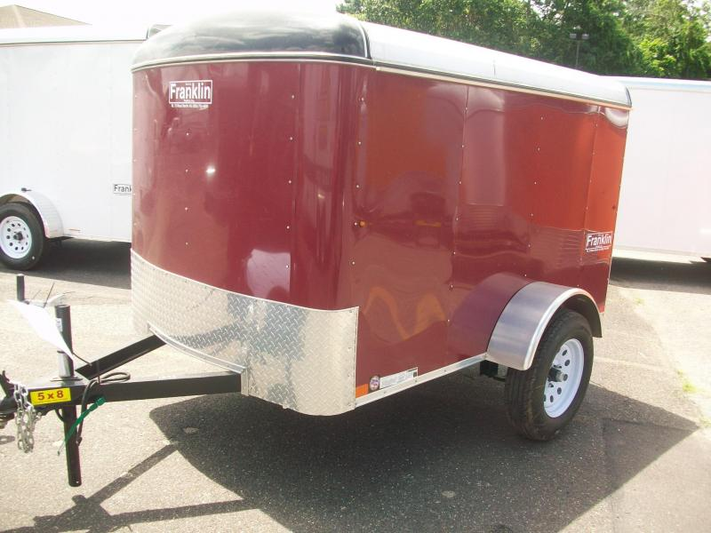 2017 Carry-On 5X8 Enclosed Cargo Trailer 2017311