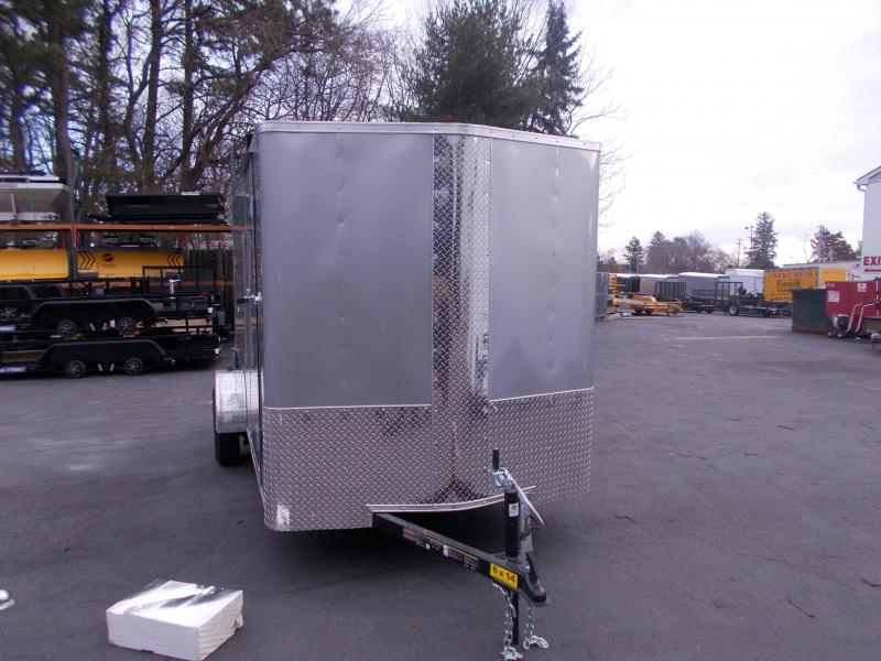 2019 Carry-On 6X14 V-Nose Enclosed Cargo Trailer 2020348