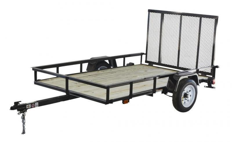 2018 Carry-On 5X8GW2K - 2000 lbs. GVWR Wood Floor Utility Trailer 2018914