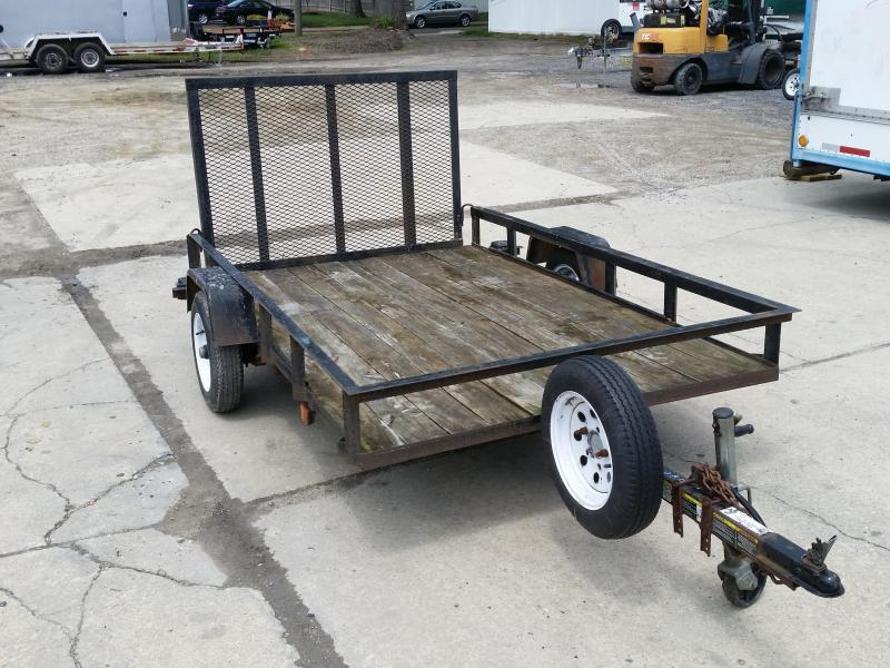 2018 Carry-On Used 5X8G - 2000 lbs. Utility Trailer 2018796