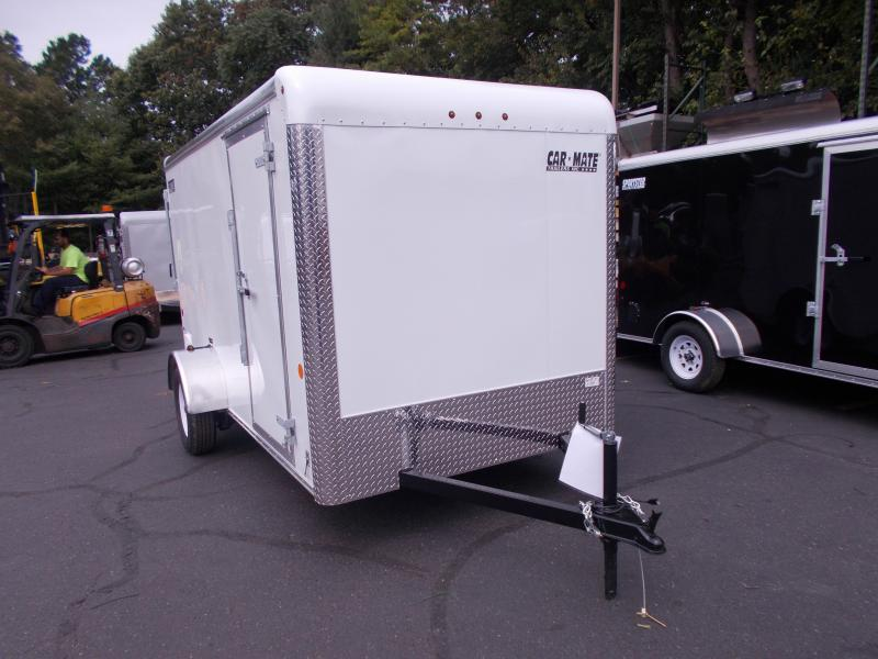 2020 Car Mate 6x12 Enclosed Cargo Trailer 2021014