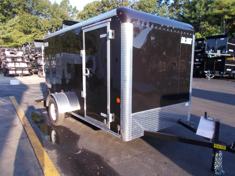 2019 Car Mate Trailers 6x12 Enclosed Cargo Trailer 2019553