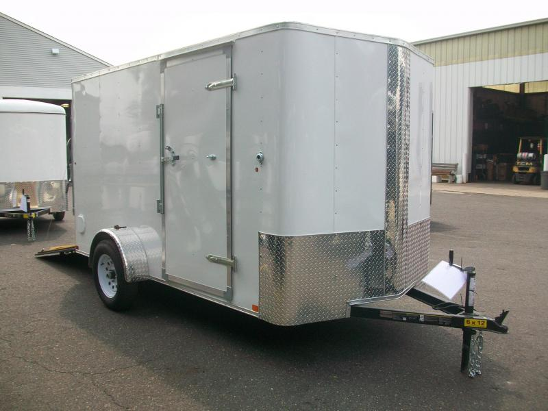 2017 Carry-On 6X12 Bull Nose Enclosed Cargo Trailer 2017463