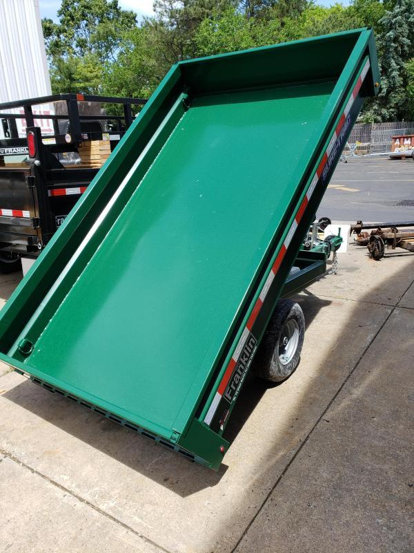 2019 Sure-Trac 4.5 X 8 3K Utility Dump Dump Trailer 2020643