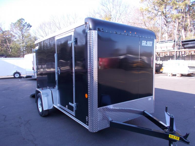 2019 Car Mate Trailers 6x12 Enclosed Cargo Trailer 2019775