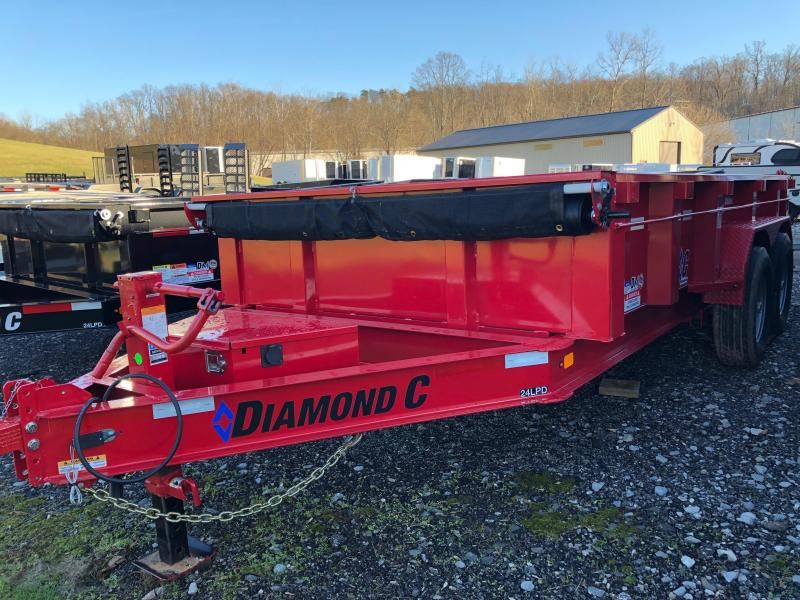 2019 Diamond C Trailers 24LPDL14X82 Dump Trailer