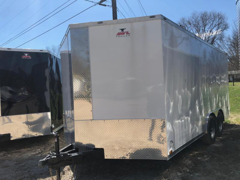 2019 Anvil AT8.5X16TA3 Enclosed Cargo Trailer W/ Barn Doors