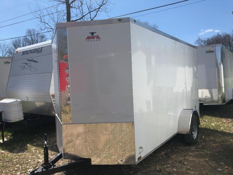 2019 Anvil AT6X12SA Enclosed Cargo Trailer w/ Barn Doors