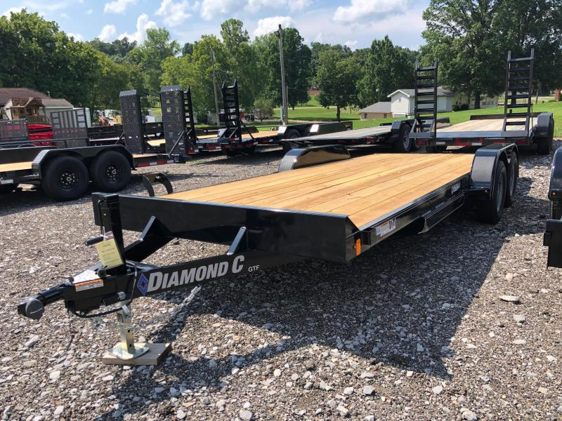 2019 Diamond C Trailers GTF235 20X83 Car Trailer