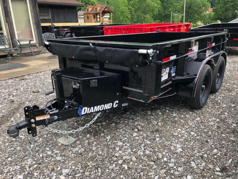 2019 Diamond C Trailers EDG235 10X60 Dump Trailer