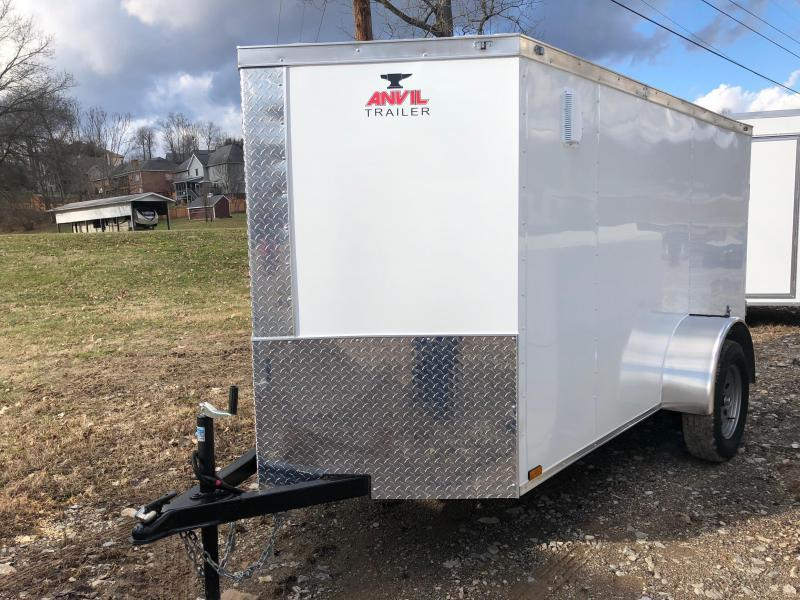 2019 Anvil AT5X10SA Enclosed Cargo Trailer w/ Barn Doors