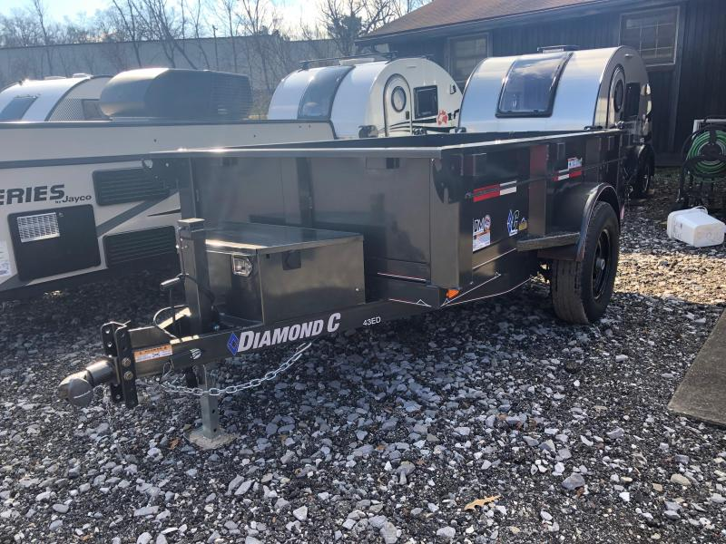 2019 Diamond C Trailers 43EDL8X60 Dump Trailer