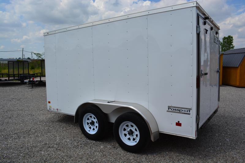 2019 Haulmark PP7X12DT2 Enclosed Cargo Trailer