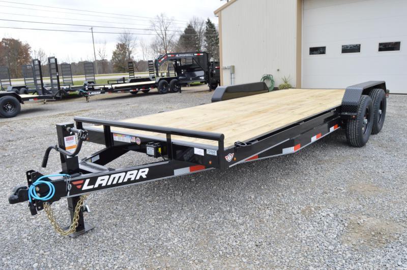 2019 Lamar Trailers 83X20 Equipment Trailer