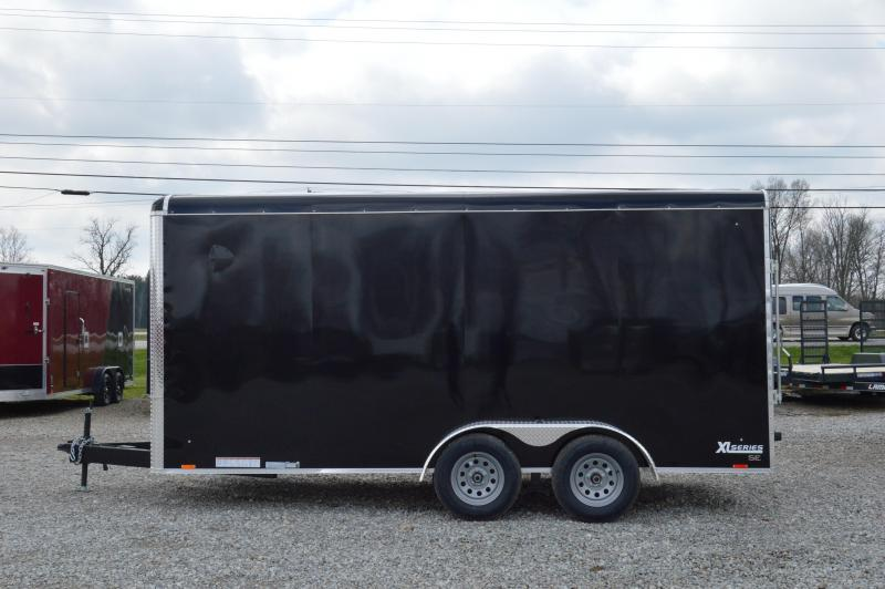 2021 Cargo Express 7X16 XLR ROUNDTOP SE CARGO-BLK Enclosed Cargo Trailer