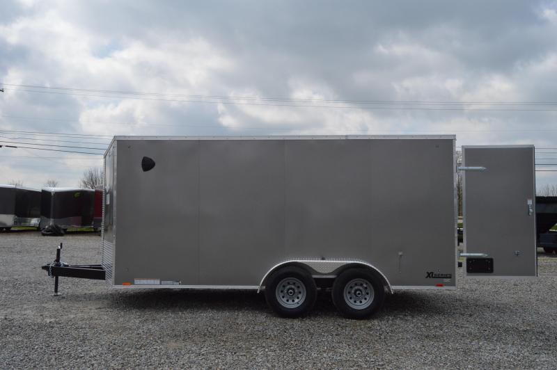 2021 Cargo Express 7X16 XLW SE CARGO FLAT TOP-P Enclosed Cargo Trailer