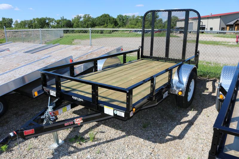 "2018 PJ Trailers 60""x10' Single Axle Channel Utility Trailer"