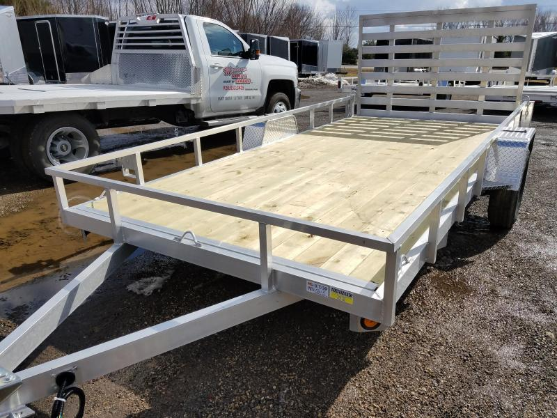 2018 Quality Steel and Aluminum 8214ALSL3.5KSA Utility Trailer