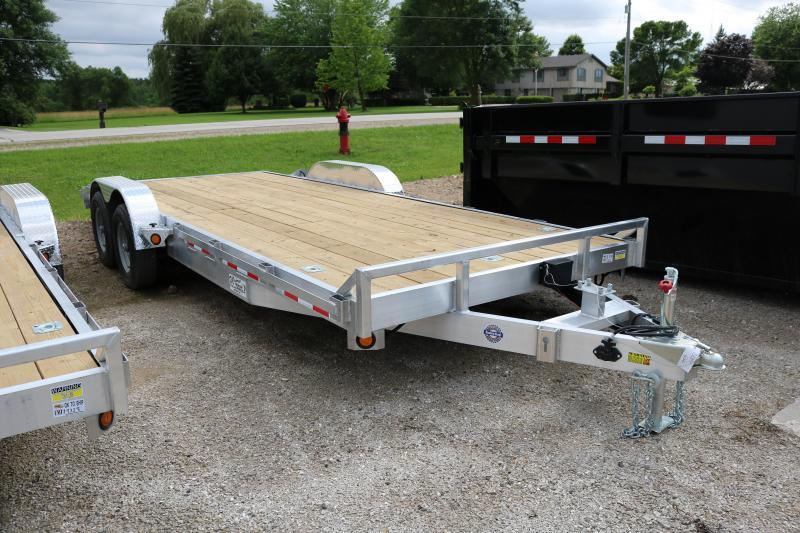 2018 Quality Steel 83X20 Car Hauler Trailer 10K