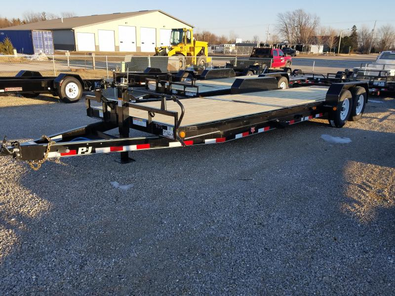 2018 PJ Trailers T6242 Equipment Trailer