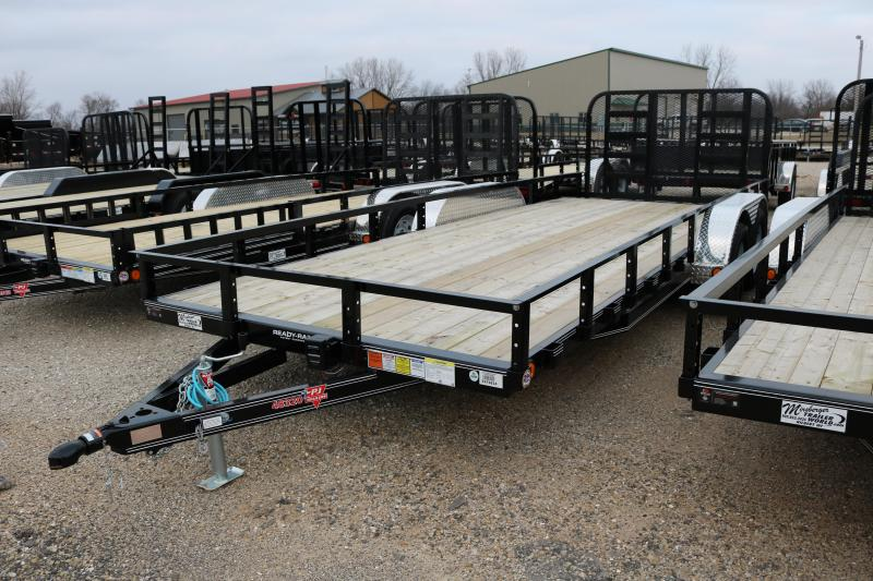 2018 PJ Trailers 20'x83 Tandem Axle Channel Trailer