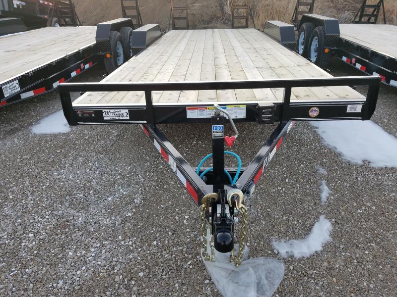 2018 PJ Trailers CE222 Equipment Trailer