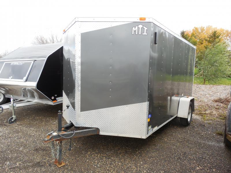 2012 MTI Trailers 7x12 Cargo / Enclosed Trailer