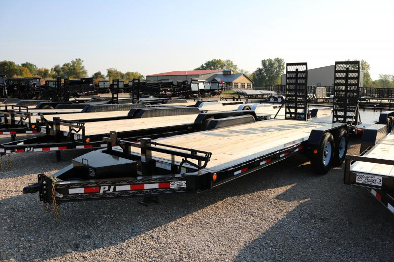 "2018 PJ Trailers 20'x8"" Pro-Beam Equipment Trailer"