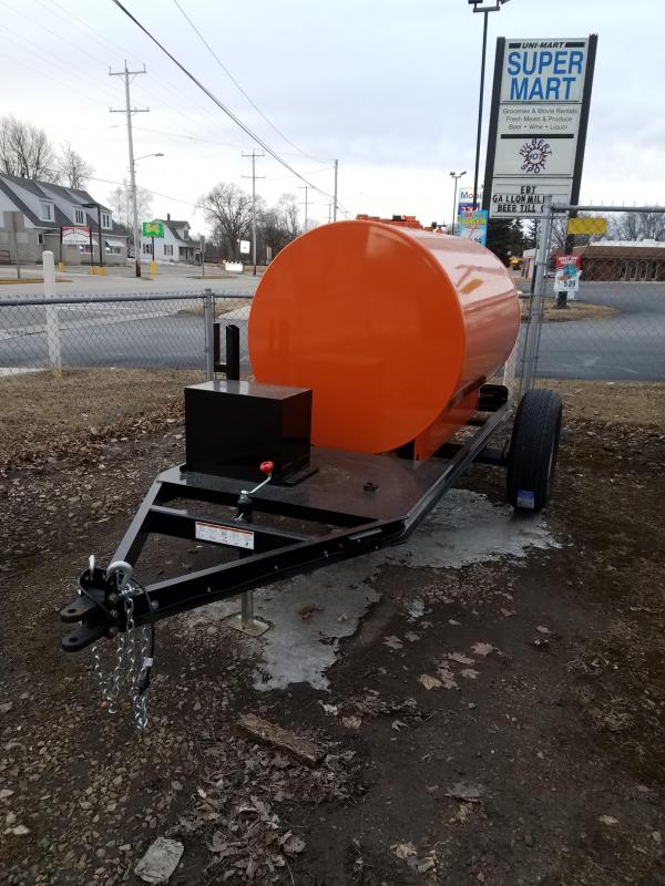 2018 Rugged Terrain FUEL TANKER  Trailer