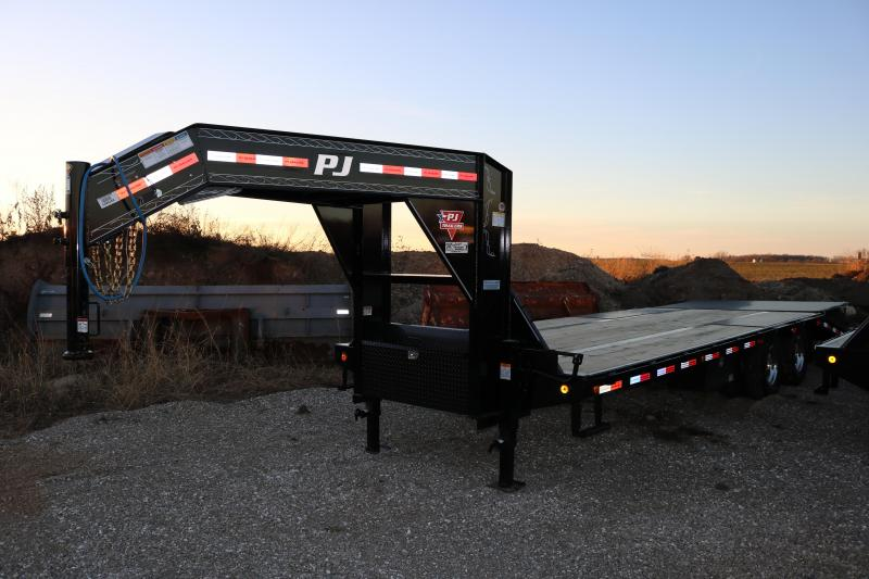 2018 PJ Trailers 25' Low-Pro Flatdeck Trailer
