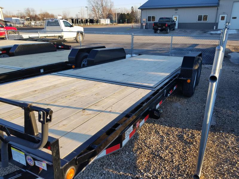 2018 PJ Trailers T6222 Equipment Trailer