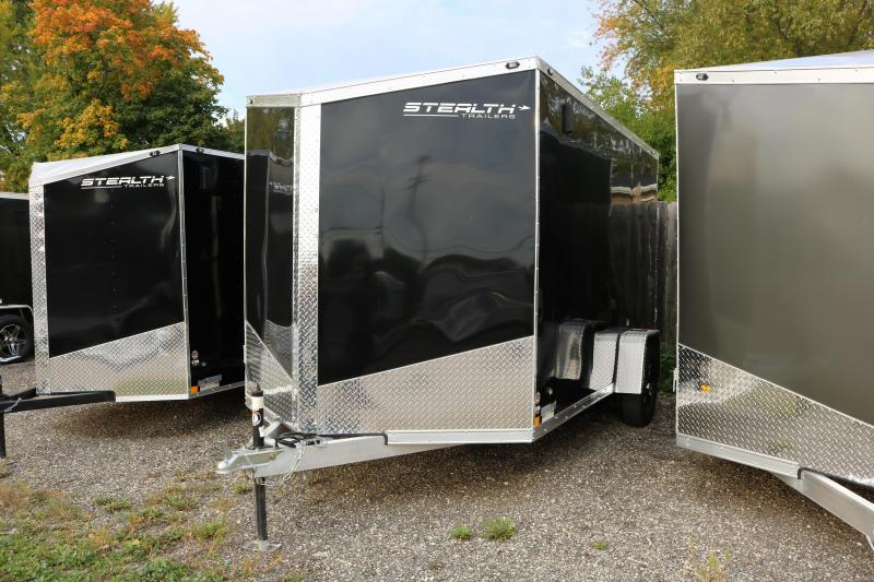 2018 Stealth Trailers 7x12' Cobra Trailer