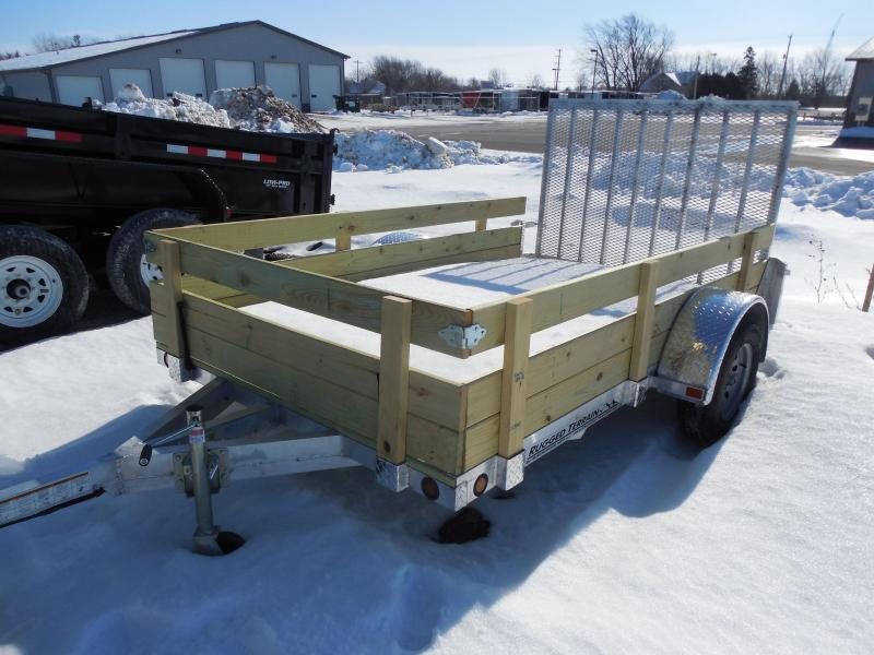 Wood Flatbed Trailer ~ Trailer inventory dealer wi mirsberger sales