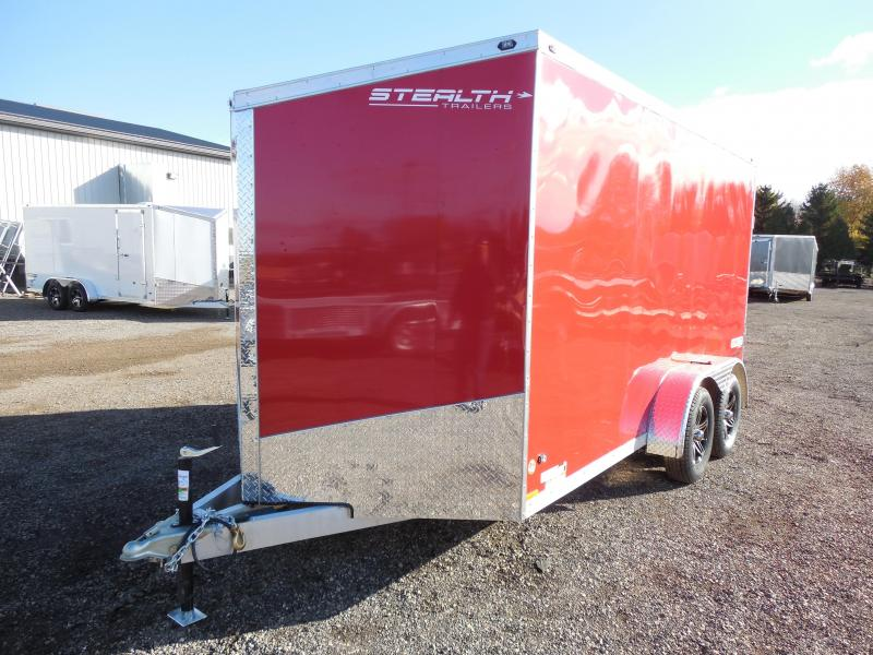 2015 Stealth Trailers 7x14 Super Lite w/Extra Height Cargo / Enclosed Trailer