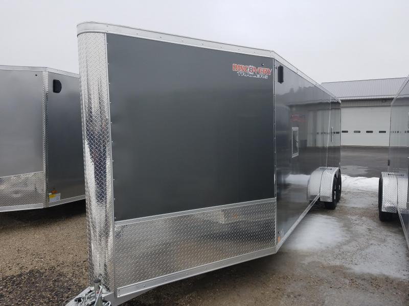 2019 Discovery Trailers GLACIER SERIES 7X29 Snowmobile Trailer