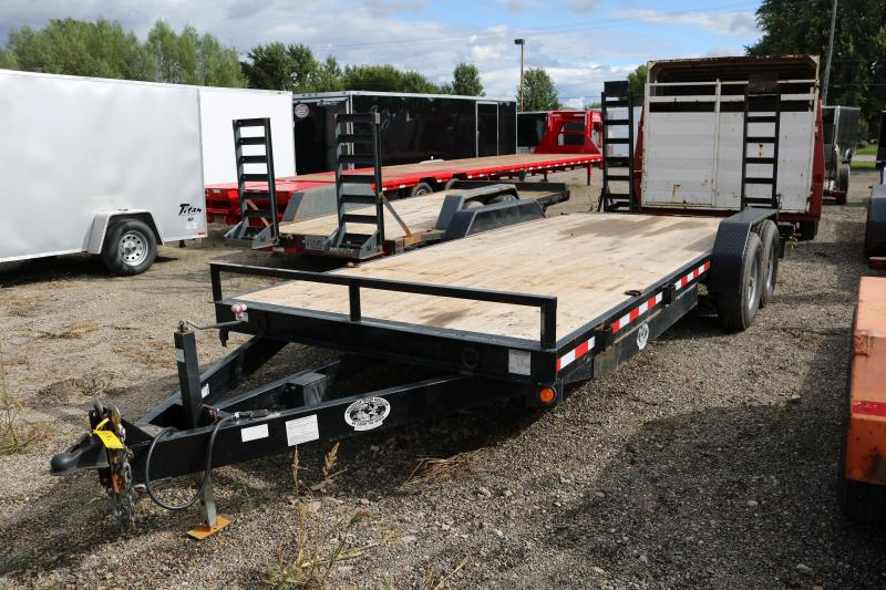 "2014 Quality Steel  83""x20' Utility Trailer"