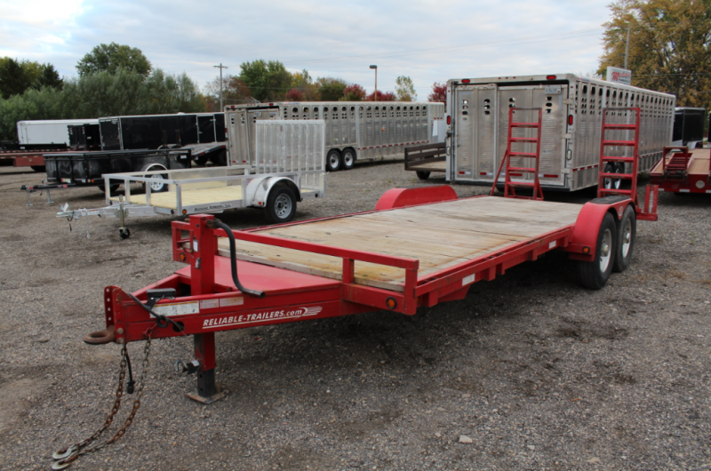 2011 Reliable Trailers 20' Equipment Trailer