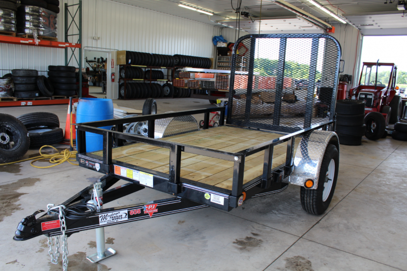 "2017 PJ Trailers 8'x60"" Channel Utility Trailer"