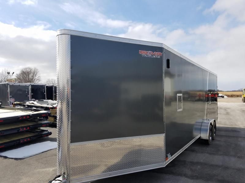 2019 Discovery Trailers GLACIER SERIES 7X29 Enclosed Cargo Trailer
