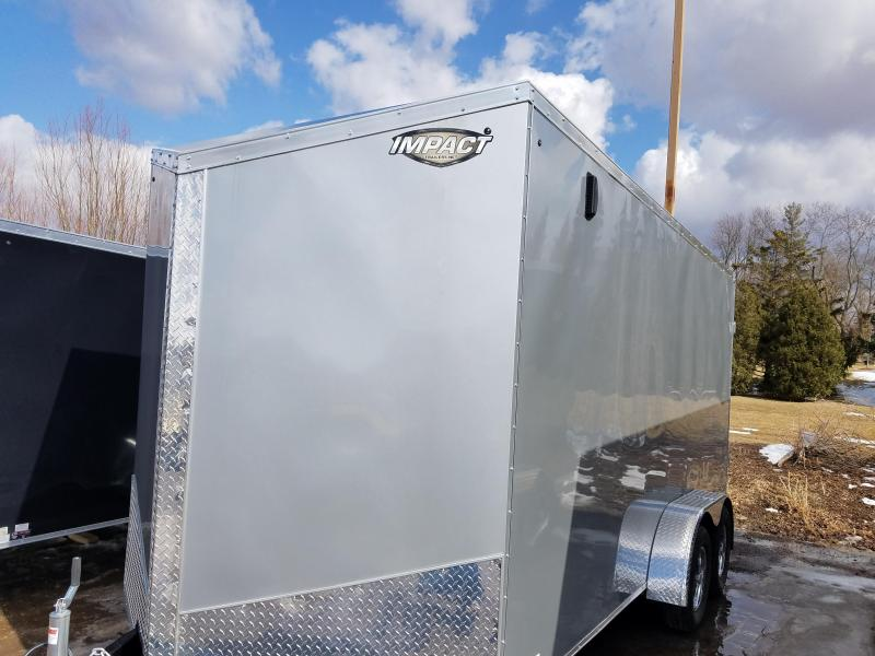 2019 Impact Trailers CLASSIC SERIES 7X16 Enclosed Cargo Trailer