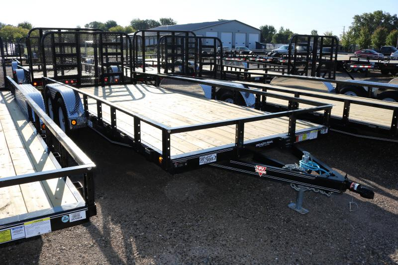 "2018 PJ Trailers 18'x83"" Tandem Axle Channel Trailer"