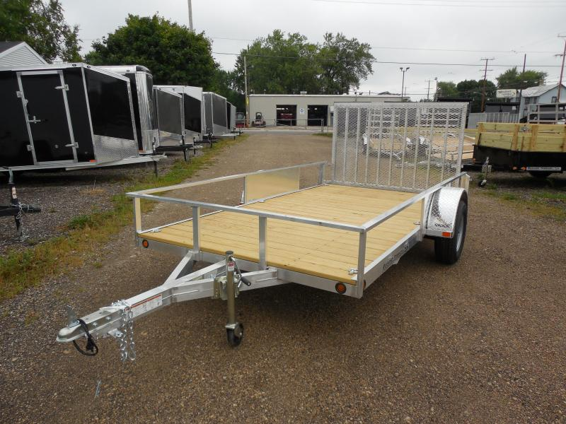 2017 Rugged Terrain 6.5x12 Pro Pull Rail Utility Trailer