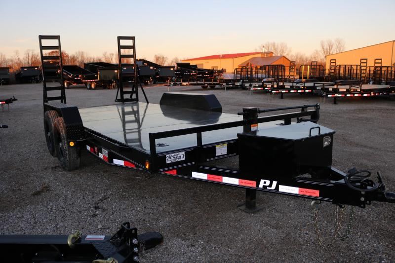 2018 PJ Trailers 16' CC Channel Equipment Trailer
