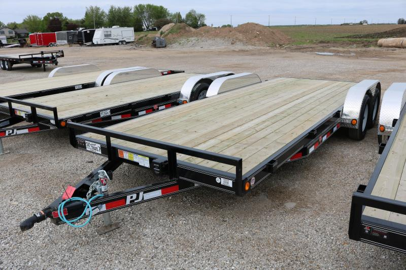 2017 PJ 20' C5 Channel Carhauler Trailer