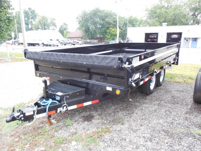 2017 PJ Trailers 14ft D8 Dump Trailer