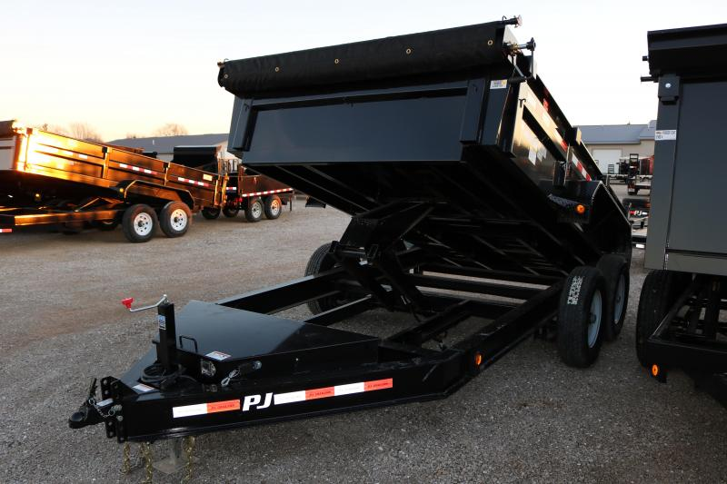 "2018 PJ Trailers 12'x83"" DL Low Pro Dump Trailer"