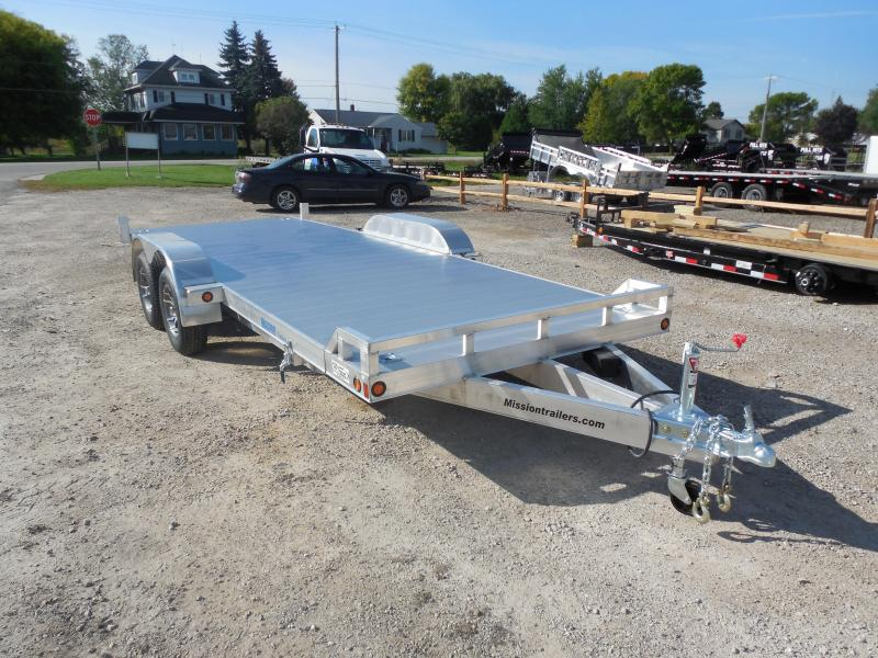 2016 Mission 20ft 6k Aluminum Tilt Car / Racing Trailer