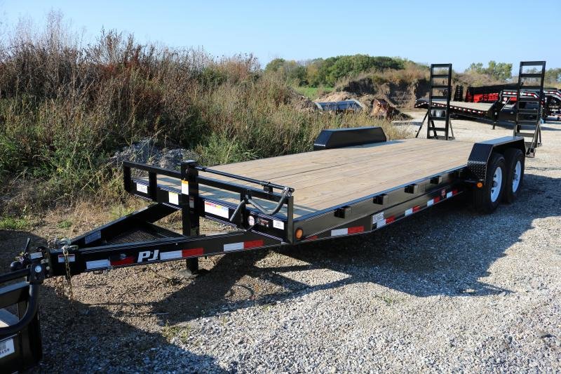 2018 PJ Trailers 22' CC Equipment Trailer