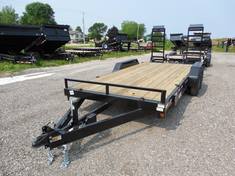 2016 Quality Steel and Aluminum 83x18 14K Equipment Trailers